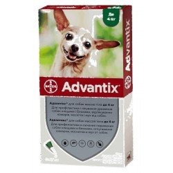 Bayer Advantix до 4 кг