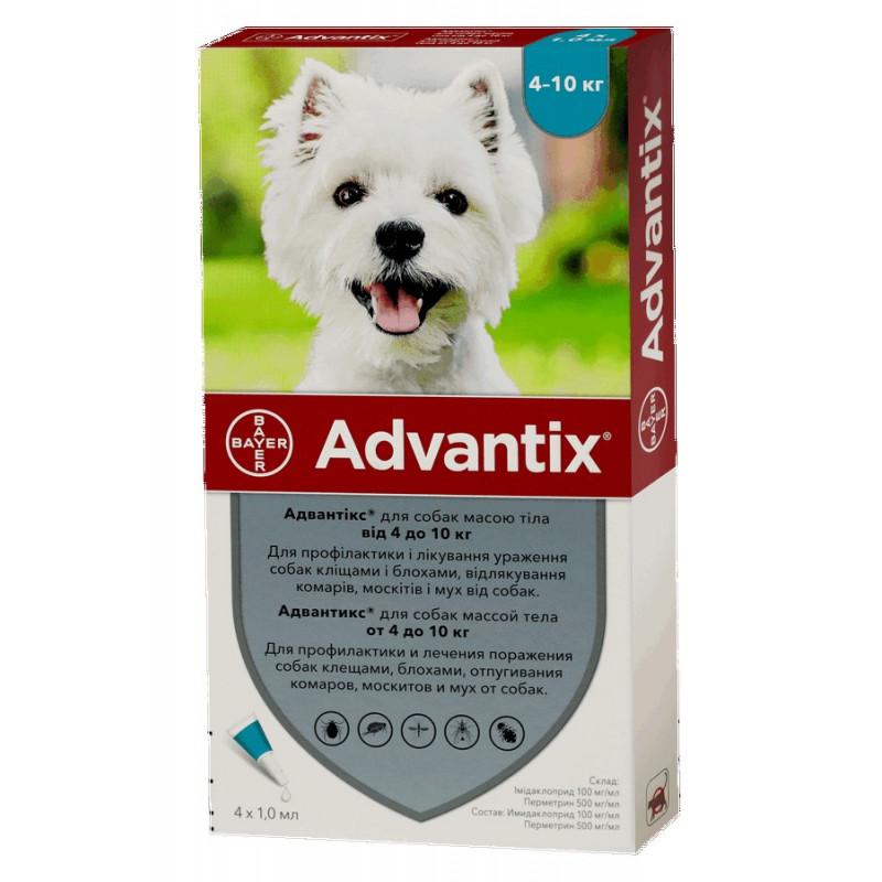 Bayer Advantix до 10 кг