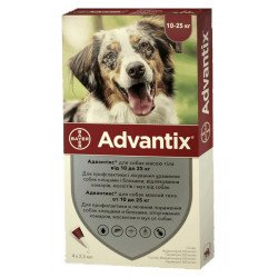 Bayer Advantix до 25 кг
