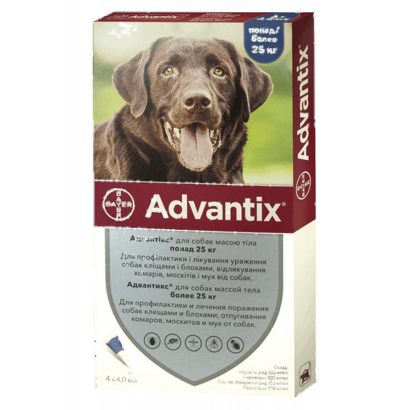 Bayer Advantix от 25 кг