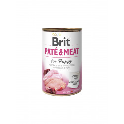 Brit PATE & MEAT for Puppy