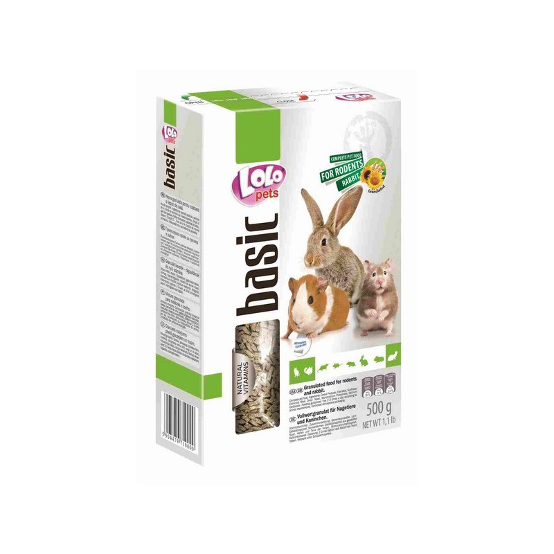 LoLo Pets basic for RODENTS and RABBIT