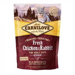 Carnilove Fresh Chicken & Rabbit Adult Cats Gourmand
