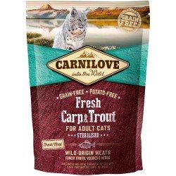 Carnilove FRESH CARP & TROUT Sterilised Cats