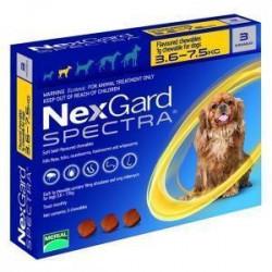 Merial NexGard Spectra от 3,5 до 7,5 кг