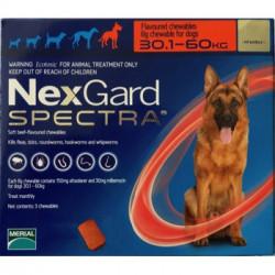 Merial NexGard Spectra для собак от 30 до 60 кг