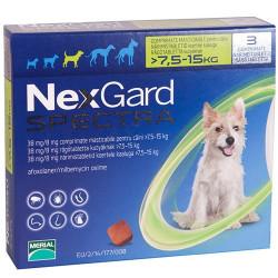 NexGard Spectra от 7,5 до 15 кг