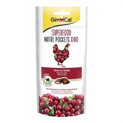 GimCat Superfood Nutri Pockets Duo