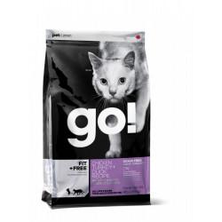 GO! Natural Fit+Free Grain Free Chicken, Turkey, Duck Cat Recipe