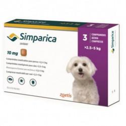 Simparica таблетка от блох и клещей для собак 2,5-5 кг