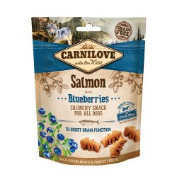 Carnilove Dog Crunchy SALMON With BLUEBERRIES