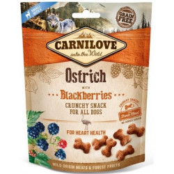 Carnilove Dog Crunchy Ostrich with Blackberries
