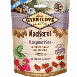 Carnilove Dog Crunchy MACKEREL With RASPBERRIES