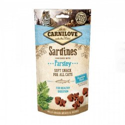 Carnilove Cat SARDINE With PARSLEY Semi Moist