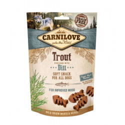 Carnilove Dog Trout Enriched With Dill Semi Moist