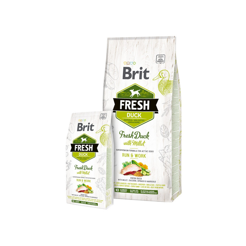 Brit Fresh ADULT Duck with Millet