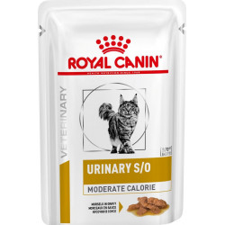 Royal Canin Urinary S/O Feline Moderate Calorie Pouches
