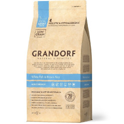 Grandorf White Fish & Brown Rice Adult Indoor Cat