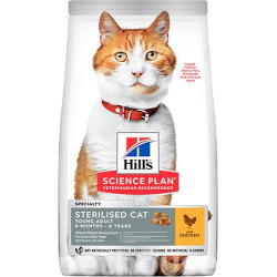 Hills SP Feline Young Adult Sterilised Cat with Chicken