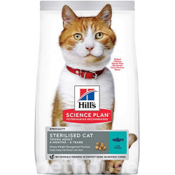 Hills SP Feline Young Adult Sterilised Cat with Tuna