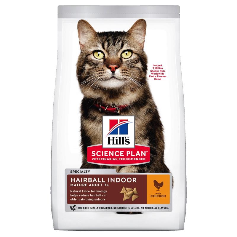 Hills SP Feline Mature Аdult 7+ Hairball Chicken