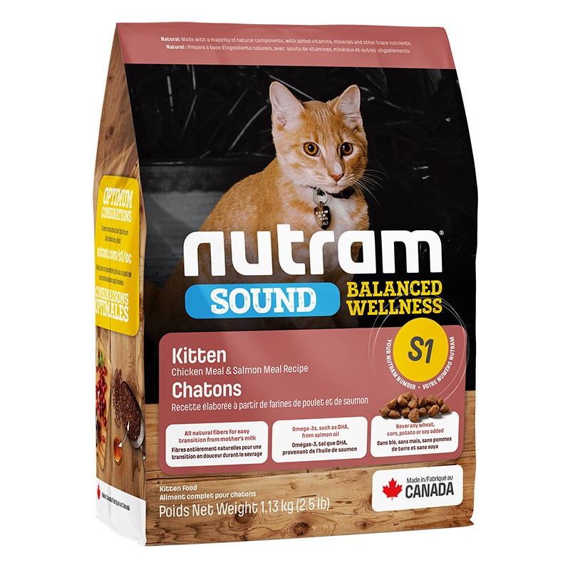 Nutram SOUND Kitten