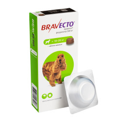 Таблетки Bravecto от блох и клещей для собак