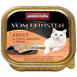 Animonda Vom Feinsten для кошек, с курицей, лососем и шпинатом
