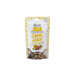 Brit Care Cat Snack Shiny Hair