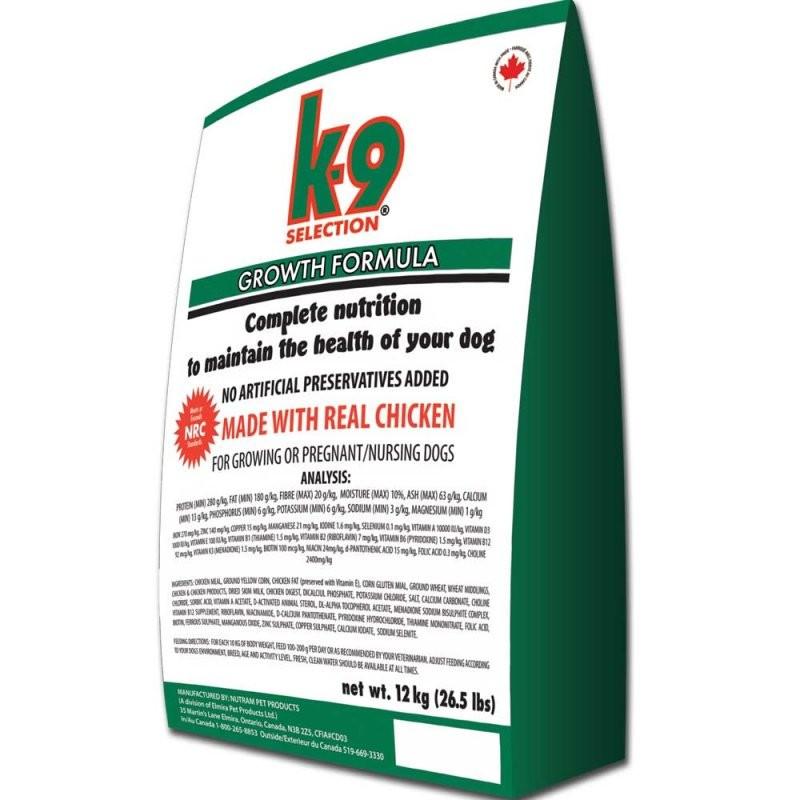 K-9 Selection Growth Formula