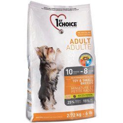 1st Choice Adult Toy & Small Breeds