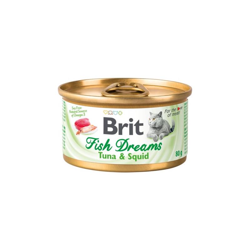 Brit Fish Dreams тунец и кальмар