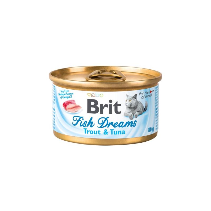 Brit Fish Dreams тунец с форелью