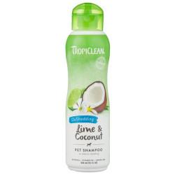 TropiClean Deshedding Lime & Coconut Shampoo