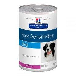 Hill's Prescription Diet D/D Food Sensitivities, с уткой