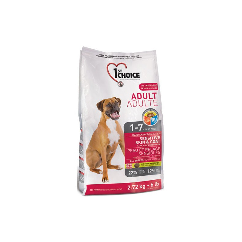1st Choice Adult Sensitive Skin & Coat All Breeds