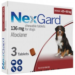 NexGard от блох и клещей от 25 до 50 кг