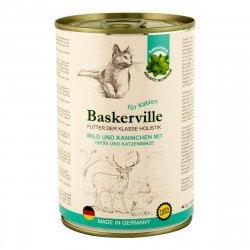 Baskerville Holistic Оленина с кроликом и кошачьей мятой