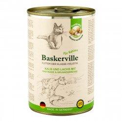 Baskerville с телятиной и лососем