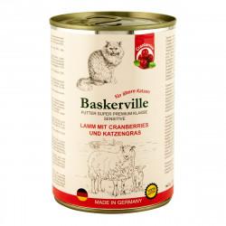 Baskerville Sensitive Ягненок с клюквой и кошачьей травой