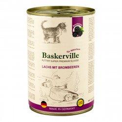 Baskerville Лосось с ежевикой для котят