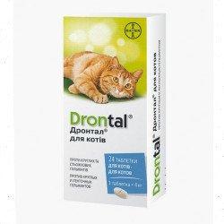 Bayer Drontal для кошек антигельминтик