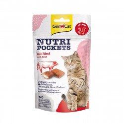Gimpet Nutri Pockets c яловичиною і солодом