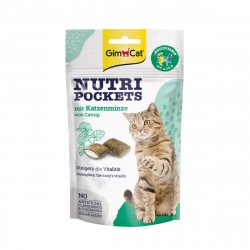 Gimpet Nutri Pockets Кошачья мята+Мультивитамин