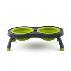 Dexas Double Elevated Feeder Small
