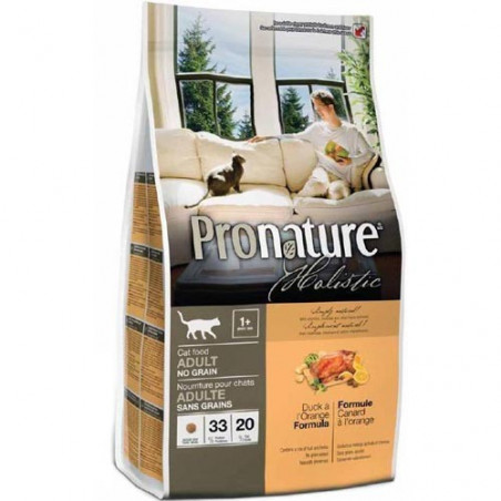 Pronature Holistic Cat Duck & Orange